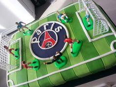 PSG Paris Saint Germain Cake !!