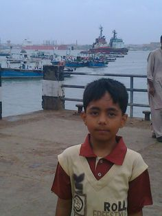 Daniyal Ali at Manora Island