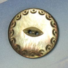 Vintage Button Mother of Pearl Button Antique by fallinloveagain, $10.00