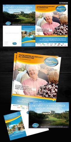 freelance brochure design for Work Fleet Forum by Sheko0013