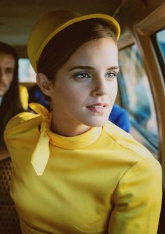 ewatsondaily: Emma Watson in Colonia (2015) Remind anyone of Twiggy?