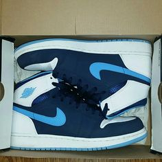 Air Jordan 1 Hightop. 7Y. 1 Retro High BG. I can make deals if intrested! *no trades Jordan Shoes