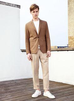 Zara Lookbook Man Spring/Summer 2015