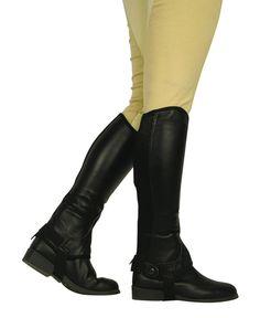 Dublin Flexi Leather Half Chaps