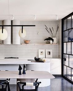 Painting Kitchen Cabinets: Our Favorite Colors for the Job — Scout & Nimble - Common. Kitchen Cabinet Trends, Small Kitchen, Inspired Homes, Kitchen, Home, Kitchen Credenza, Interior, Kitchen Design, Terrazzo Flooring