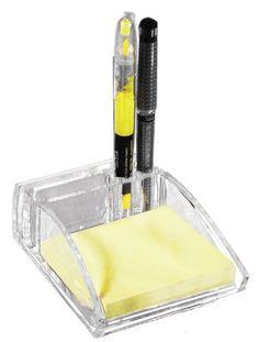 Kantek  Acrylic Memo Pad Organizer, Fits 3 x 3 Inches Memo Pads , Clear (AD05), http://www.amazon.com/dp/B001E6C0FM/ref=cm_sw_r_pi_awdm_nXsmub1G30GAV