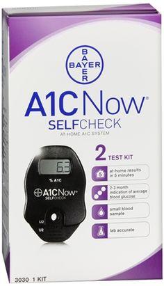 A1C Now Self Check At-Home System 2 Tests Each - Pharmapacks