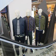 Prop Studios for H&M   Geometric Campaign Windows & In-store VM   #HM…