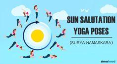 Sun Salutation (Surya Namaskar) Yoga Poses for Belly Fat fast.