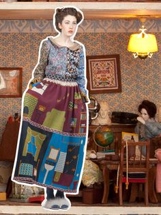 LU_FLUX_EVERYTHING_BUT_THE_KITCHEN_SINK_13_HOUSEKEEPER_BLOUSE_HOME_SWEET_SKIRT_2