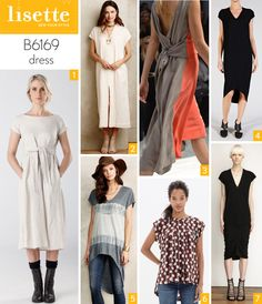 Liesl provides some fabric and styling inspiration for her new Lisette pattern B6169 for Butterick.