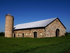 In the small rural town of Chase in Oconto County, Wisconsin, stands a single fieldstone barn.