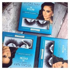 • Stocking up on those Vegas Nays again • When they're only £4.49 each from @savers_hb how can you not stock up?! • These lashes are incredibly wispy, they're very much like the @eylureofficial Luxe Mink Style lashes but more or less half the price! 🙋🏽💁🏽 I think I'm well and truly stocked up for years with my lash stash now •