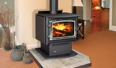 Enviro | Products | Wood | Kodiak 1200 Freestanding Stove
