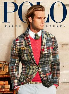 Polo Ralph Lauren 2013 Campaign What is this patch pattern called  084cc812be709