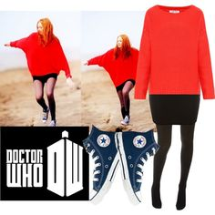 Doctor Who (Amy Pond), created by joyklassen on Polyvore