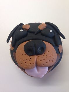 Rottweiler Dog Dog Cakes And Rottweilers On Pinterest