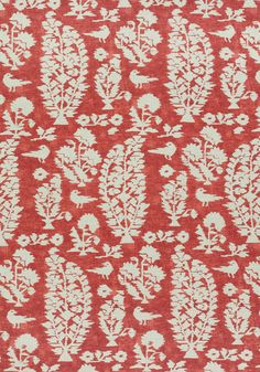 ALLAIRE, Red, F972599, Collection Chestnut Hill from Thibaut