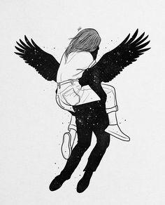Muhammed Salah is a 27 years old artist, illustrator, art director, digital designer and graphic designer from Mansoura, Egypt. Sexy Drawings, Art Drawings Sketches, Muhammed Salah, Illustrator, Illustration Art Drawing, Couple Art, Love Art, All Art, Oeuvre D'art