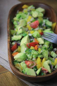 Cilantro & Avocado Medley #justeatrealfood #mypcoskitchen