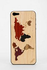 #urbanoutfitters Map Case for iPhone