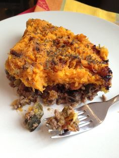 Butternut Squash Cottage Pie (adjust veggies to scd friendly phases, no arrowroot or allium)
