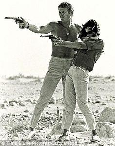 Steve McQueen with Neile Adams