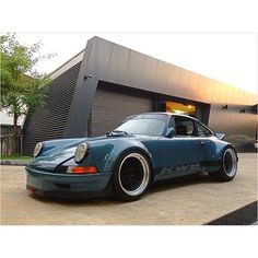 RWB Long nose 911 completed in Thailand. #rwb #porsche #911