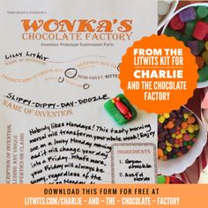 charlie and the chocolate factory word search pdf
