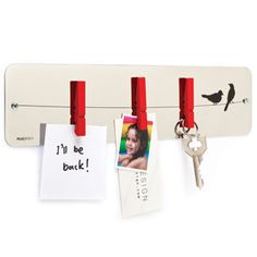 Memoboard 'Pegs Memo' by Monkey Business available at Design Memo Boards, Picture Holders, Place Card Holders, Pallet Barn, Barn Wood, Design3000, Shops, Monkey Business, Office Accessories
