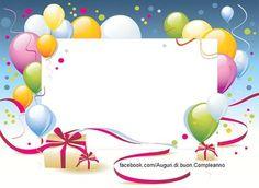 Auguri di Buon Compleanno - Personalizzati
