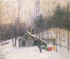 The Snowy Day, 1926 Lilla Cabot Perry