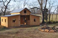 How to choose a Storage Shed Goat Barn, Farm Barn, Small Horse Barns, Horse Shelter, Horse Barn Plans, Barn Shop, Barns Sheds, Hobby Farms, Farm Life