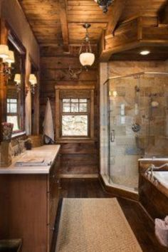 Clawfoot tub though.. lOVE THIS BATHROOM TO THE MOON.