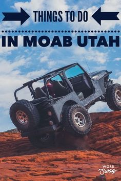 Plan a trip to Moab Utah. Check out the national parks like Arches and Canyonlands plus so many fun biking, hiking, off roading adventuresbto have! #utah #moab #nationalparks #archesnationalpark #canyonlandsnationalpark #offroad #atv #hiking #biking #cAmping #outdoors #planningaway @planningaway
