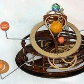 wooden orrery $2800