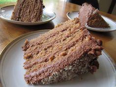 Cocoa Almond Torte