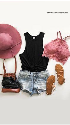 Victoria's Secret PINK eyelash lace high neck bralette outfit 2016 #pinknation