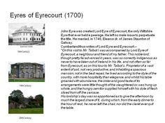Landlords Eyres of Eyrecourt Being A Landlord, Ireland, Places, Irish, Lugares