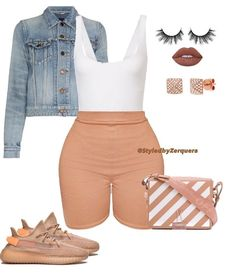Best Spring Outfits Casual Part 4 Swag Outfits For Girls, Cute Swag Outfits, Chill Outfits, Dope Outfits, Trendy Outfits, Summer Outfits, Fashion Outfits, Fashion Fashion, Polyvore Outfits