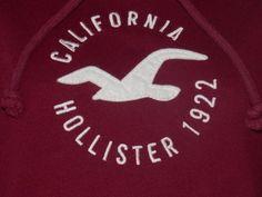 HOLLISTER by ABERCROMBIE Sweatshirt/Hoodie - Womens Size Large - Logo on Front #Hollister #Sweatshirt
