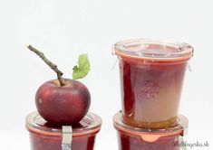 Double Apple Jelly. One half with lime and second with raspberries. Great gift for the indecisive.