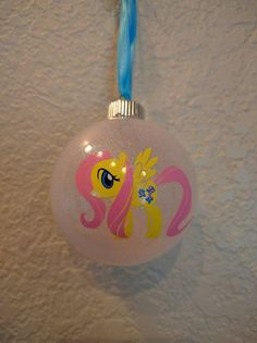 My Little Pony Christmas Ornament by ColoCustomCreations on Etsy