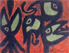 "Paul Klee "" La máquina del gorjeo"" 1980 Kandinsky, Cavalier Bleu, Paul Klee Art, Classical Realism, Quirky Art, Creative Artwork, Painting Process, Mail Art, Surreal Art"