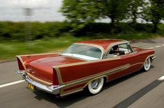 57 Chrysler Saratoga, check out those tailfins!