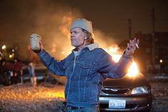 """William H. Macy as Frank Gallagher in """"Shameless""""."""