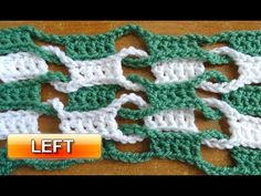 Meladoras Creations  |  Double Weave and Link Stitch – Free Crochet Pattern
