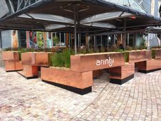 restaurant planters - Google Search