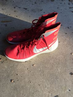 6ef6e9dd0d44c Size 18 Mens Basketball Shoes Hyperdunk Red #fashion #clothing #shoes  #accessories #