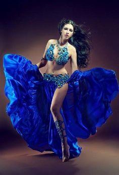Super blue..Uber New era Cultural dancer...Beautiful!